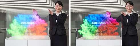 大日本印刷 透明スクリーン
