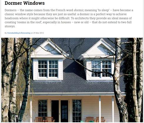 屋根窓=ドーマー=鳩小屋