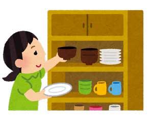 皿洗い 面倒 漫画 平和 理想 食器 擬人化