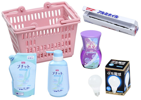 ミニチュア スーパーマーケット 日用品