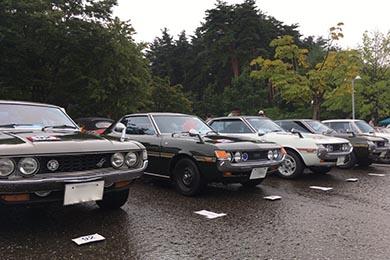 このように車種ごとに並んでいます。
