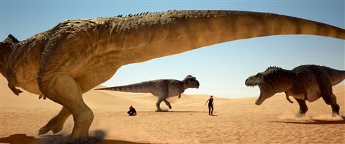 """死刑囚vs恐竜「ジュラシック・ユニバース」アルバトロスから登場 1人しか生き残れない""""ジュラシック・ゲーム""""が幕を開ける"""