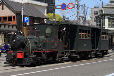 坊っちゃん列車写真