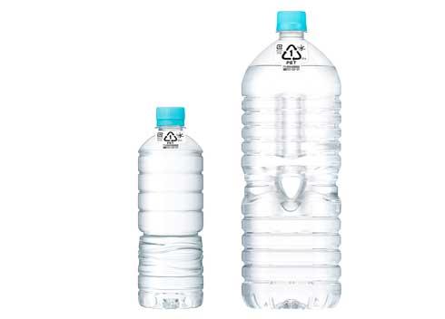 アサヒ おいしい水 天然水 ラベルレス ボトル COOL CHOICE