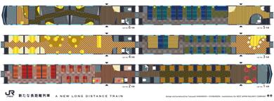 JR西日本 長距離列車 フリースペース
