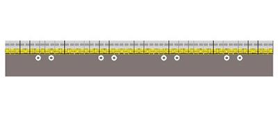 マスキングテープ JR 駅のホーム