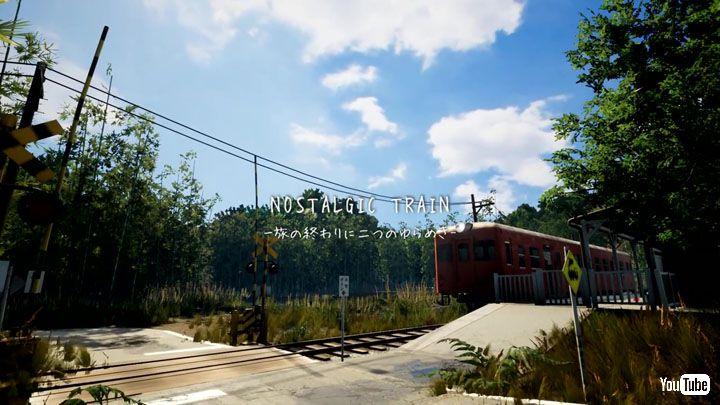 懐かしい田舎の風景を巡り失われた記憶を探る――PCゲーム「NOSTALGIC TRAIN」が郷愁を誘う
