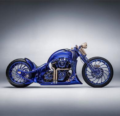 ハーレー・ダビッドソン バイク 2億円 ブヘラ コラボ