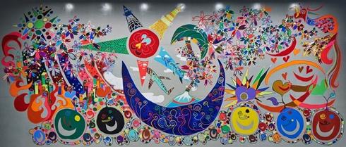 香取慎吾 アート ルーブル美術館 シャルル5世ホール ジャポニズム2018 広報大使 NAKAMA