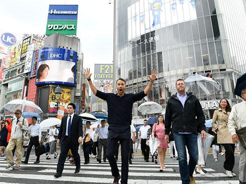 デッドプール2 ライアン・レイノルズ デッドプール 中の人 バスツアー デップー 増上寺 渋谷
