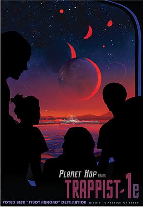 NASA VR 太陽系外惑星 惑星旅行局