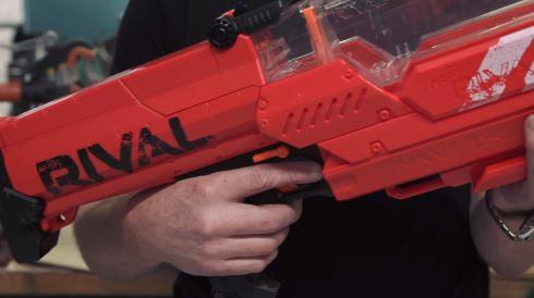 おもちゃ 銃 弾倉 改造 1000発