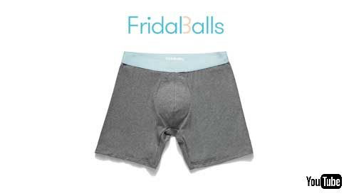 子ども 攻撃 股間を守る 金的 パンツ お父さん FridaBalls