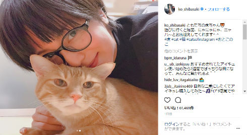 柴咲コウ MuseK 眼鏡 猫 プライベート ショートヘア 髪形 ヘアスタイル