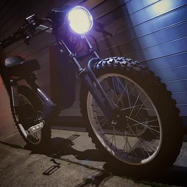 ONYX 電動バイク ビンテージ レトロ 海外