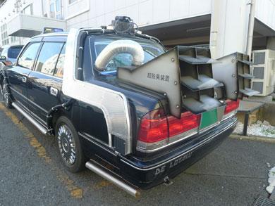 超脱臭装置つきタクシー