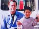 """りゅうちぇる、""""トム・ハンクス似""""の父との2ショット公開 「僕もパパのような優しいパパになれるように」"""