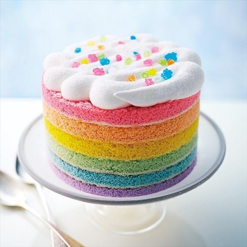 フェリシモ レインボーアイスケーキ
