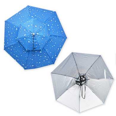 頭にかぶる 傘 アタマンブレラ サンコー