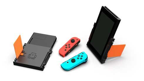 Nintendo Switch ニンテンドースイッチ 縦持ち クラウドファンディング Flip Grip