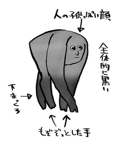顔は人間の子ども」「4本足でその場でモゾモゾ」正体不明の謎生物の ...