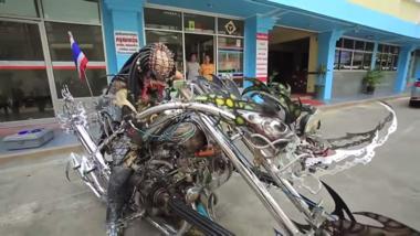 ゼノモーフ エイリアン プレデター バイク タイ王国