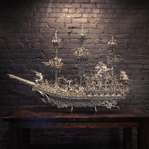 幽霊船 アーティスト Jason Stieva Instagram 作品