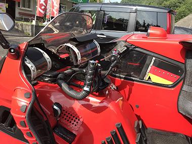 CORDA アウディ トライク バイク サイドカー ドイツ
