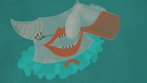 午前3時の仮面舞踏会 卒業制作 アニメーション 怖くない悪夢