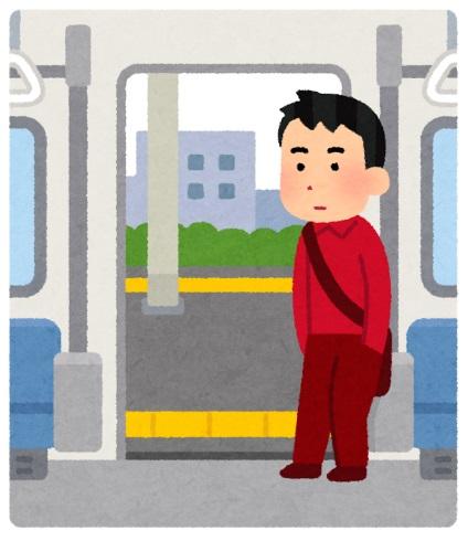 電車 景色 忍者 妄想