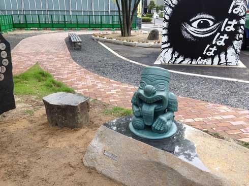水木しげるロード リニューアル  鬼太郎 妖怪 ブロンズ像