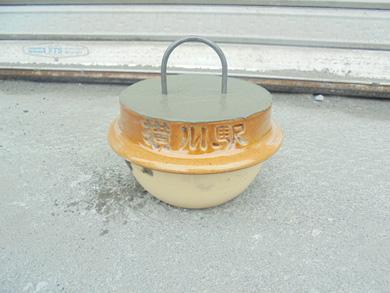 峠の釜めし 容器 再利用