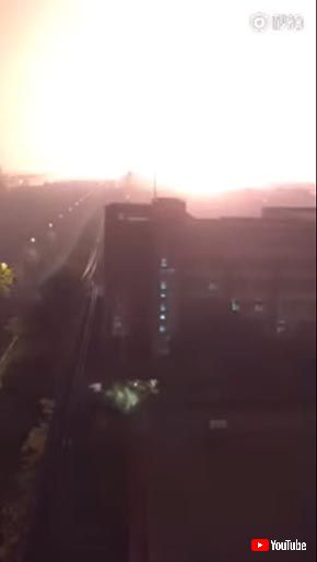 天津爆発 フジテレビ 炎上 岡山 爆発