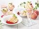デニーズの桃デザートの満足感が半端ない! 丸ごと1個を使った「桃氷」など7種が登場