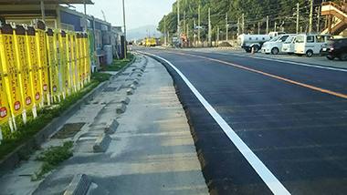 広島 呉 西日本 豪雨 国道31号線 復旧 駐車場