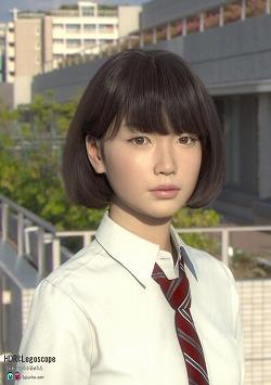 高山沙織 Saya 3DCG 美少女 アンドロイド ミスiD2018
