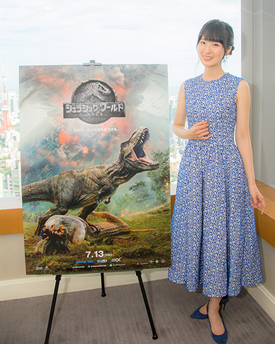 ジュラシック・ワールド 炎の王国 映画 インタビュー 石川由依 吹き替え