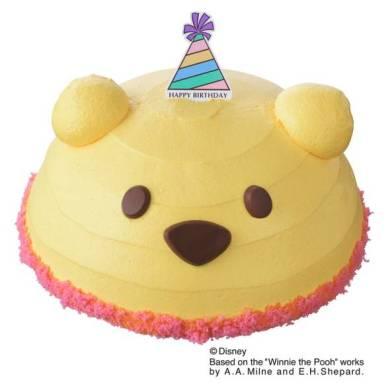 くまのプーさん デコレーションケーキ