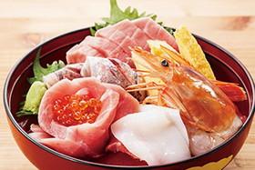 北斗七種海鮮丼(三崎豊魚)