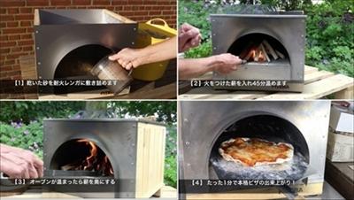 ドーム型ピザオーブン バッケン