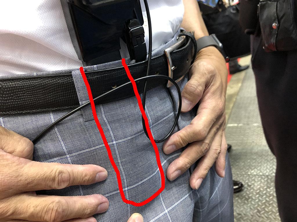 l nt 180720zuboncool03 - 仕事中、股間が蒸れて不快に思っている人へ! ズボンの中に空気を送る送風ファンが登場 見た目も良い