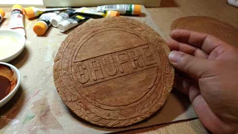 神戸風月堂 ゴーフル 木彫り 銘菓 兵庫県