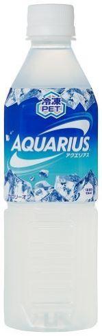 アクエリアス コカ・コーラボトラーズジャパン 冷凍ペット 休売