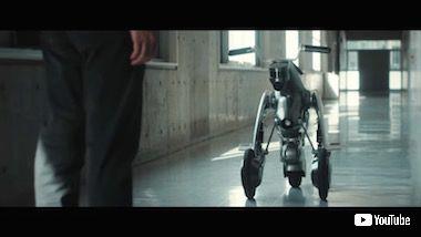 カングーロ AI ロボット バイク 変形