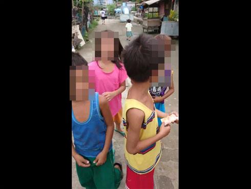 フィリピン人の子ども