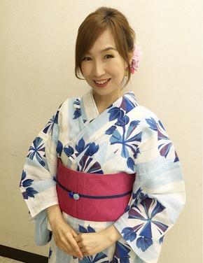 森口博子 50歳 年齢 健康診断 浴衣