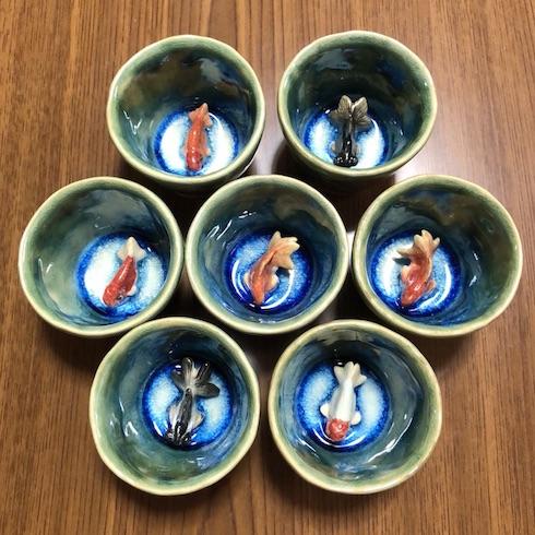 兎 デザフェス 金魚