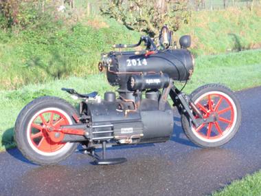 蒸気機関 スチーム バイク パンク SL