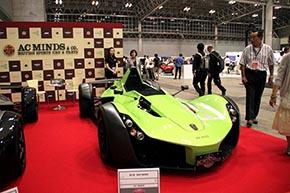 BAC Mono  カーボンボディや特別色など内外装オプションを装着した車両