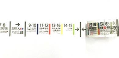 新宿駅 マスキングテープ マステ ヴィレヴァン ヴィレッジヴァンガード 貼ったところ